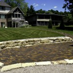 Stone Retaining Wall & Pavers