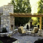 Fireplace w/ Shade Arbor