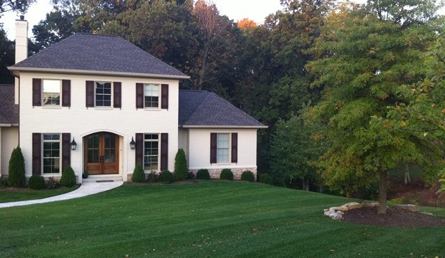 designscape, landscaping, turf preperation, quality seed, compost tea, organic turf, bloomington, indiana, gramercy